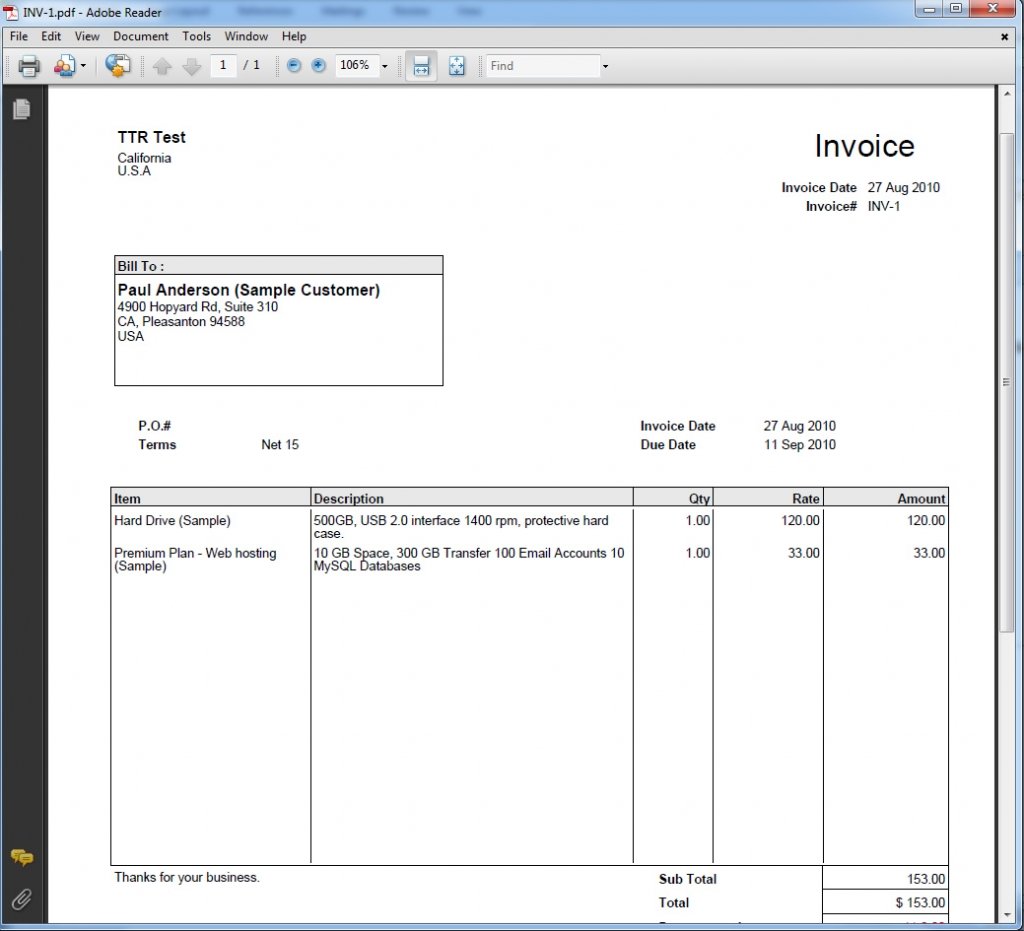 Free word invoice template zoho invoice 15 free invoice for Zoho invoice download